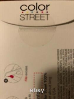 New Color Street Rose Hill 100% Real Nail Strips Retired Polish Wraps HTF FDC172