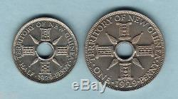 New Guinea. 1929 Halfpenny & Penny Proof Pair. FDC