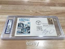 Oscar Robertson PSA DNA Authentic First Day Cover Post Card Auto Autograph