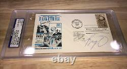 Oscar Robertson PSA DNA Authentic First Day Cover Post Card Auto Autograph 2aval