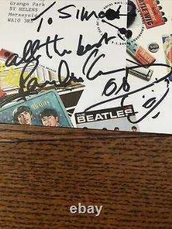 PAUL MCCARTNEY UK Royal Mail First Day Cover Signed Autograph Beatles