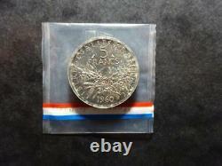 PIEFORT Semeuse 5 Francs argent 1960