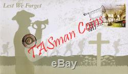 PNC Australia 2017 Lest We Forget ANZAC Day RAM $2 Coin