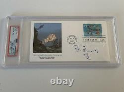 Peter Benchley Jaws Author Signed Autograph First Day Cover PSA DNA j2f1c