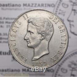 Piastra 120 Grana 1859 (Napoli Francesco II) SPL-FDC LOT1944