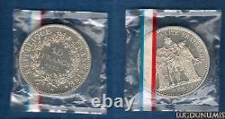 Piéfort 1972 10 Francs Hercule 1972 FDC ARGENT RARE 500 exemplaires FDC PIEFORT