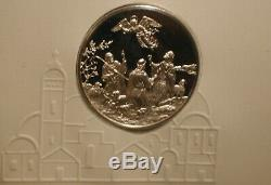Postmasters of America Medallic First Day Covers 49 Sterling Silver Medal Coins
