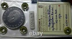 RARA 100 lire 1974 Marconi PROVA in AC PERIZIATA BAZZONI FDC