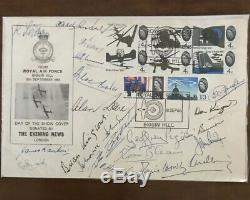RARE Multi Signed 1965 Battle Of Britain Douglas Bader Biggin Hill Air Show FDC