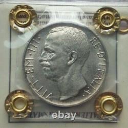 REGNO D'ITALIA, Vittorio Emanuele III 10 lire 1930, Per. Cavaliere SPL/FDC