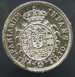 REGNO DI NAPOLI FERDINANDO IV 10 GRANA 1816 FDC FONDI SPECULARI R (id 47397)