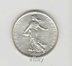 Rare Dan L'eta 1 Franc 1960 Semeuse-fdc- Voir Scan Avant De Acheter