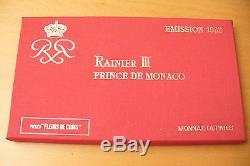 Rare Et Superbe Coffret Fdc Monaco 1982