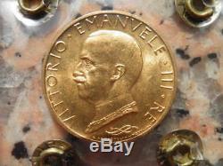 Regno D'italia V. E. XIII 100 Lire 1932 X Fdc Oro Gold Au Or Periziato