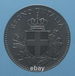 Regno D'italia Vitt. Emanu. III Raro 20 Centesimi 1920 Esagono Fdc