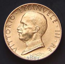 Regno D'italia Vittorio Emanuele IIII 100 Lire A. IX Fdc (id 89504)