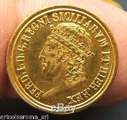 Regno Delle Due Sicilie Ferdinando I 3 Ducati Fdc (47404)