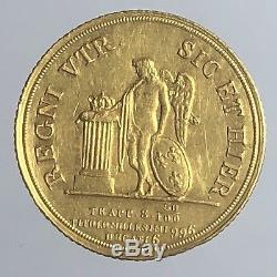 Regno Delle Due Sicilie Ferdinando II 1830 1859 6 Ducati 1842 FDC Gig 30 D76