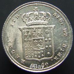 Regno Due Sicilie Ferdinando II 20 Grana 1856 Fdc Fondi Spedulari (id47396)