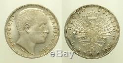 Regno d'Italia Vittorio Emanuele III 2 Lire 1907 Aquila Sabauda SPL/FDC Ag