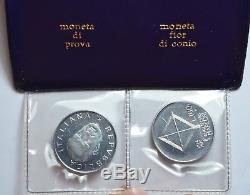 Repubblica Italiana 100 Lire 1974 Prova Marconi Fdc In Astuccio T62