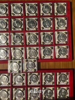 Repubblica Italiana Lotto 50 Monete Lire 500 Caravelle Anno 1966 Fdc Rotolino