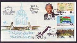 Rsa 1994 Inauguration Fdc Signed By President Mandela
