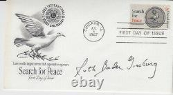 Ruth Bader Ginsburg signed First Day Cover FDC COA