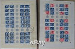 S1016 Israel über 1000 FDC + /O Blocks 1960 2010 Sammlung in 7 Alben