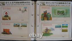 S2118 VR China 1998 + 2001 FDC + Ganzsachen / 2003 + 2005 postfrisch MNH + FDC