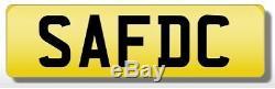 S4 FDC SAF SAFDAR Private Cherished Number Plate DC Integra DC2 DC5