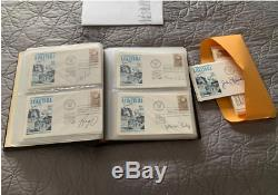 SIGNED AUTOGRAPHED lot of 130 Basketball HALL OF FAME fdc first day cover cachet