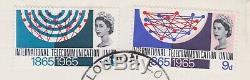 STAMPS FIRST DAY COVER 1965 ITU ERROR 1/6d MISSING PINK & PHOSPHOR NORMAL c£2750