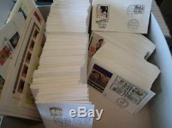 Sammlung Bund FDC 1965-1990 fast komplett ca 790 Ersttagsbriefe sauber (30009)