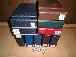 Sammlung Bund FDC ca. 875 Ersttagsbriefe von ca. 1980-2001 in 10 Alben (20002)