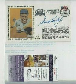 Sandy Koufax Autographed Los Angeles Dodgers Gateway First Day Cover JSA COA
