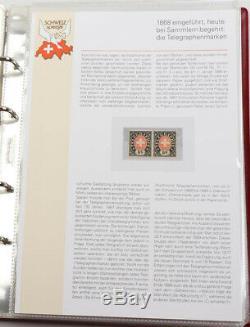 Schweiz spezial Sammlung in 2 Ringbinder mit vielen Besonderheiten, FDC usw