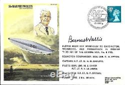 Sir Barnes Wallis Hand Signed Fdc Autographed Dambusters Dam Busters Inventor