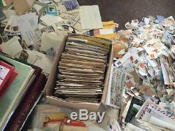 Stamp clearance 57kg 33 albums & stock books fdc letters huge job lot