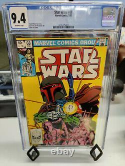 Star Wars #68 (1977 1st Series) Cgc Grade 9.4 Boba Fett Cover By Gene Day
