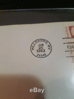 Stephen King & Herman Wouk Signed Autographed First Day Cover Issue Authors