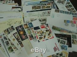 Superb Collection Fdc First Day Covers 2000 2019 Commem Defin Fv £2277 Mnh