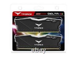 Team Delta RGB 32GB (2 x 16GB) 288-Pin DDR4 SDRAM DDR4 3200 (PC4 25600) Desktop