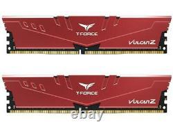 Team T-FORCE VULCAN Z 32GB (2 x 16GB) 288-Pin DDR4 SDRAM DDR4 3200 (PC4 25600) I