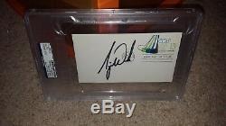 Tiger Woods Autograph Fdc Envelope Signed Psa Authentic Signature