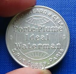 Timbre-Monnaie/Encased Stamp Token Waterman FDC Superb Fresh Rare
