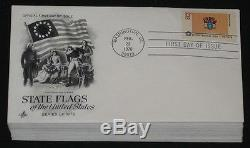U. S. FIRST DAY COVERS OVER 3,400 UNADDRESSED 1940s TO 2009