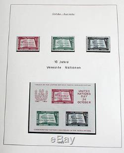 UNO New York 1951/2004 postfrisch komplett + viele Bogen, MH, FDC, GA etc