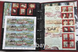 UNO tolle Sammlung in 6 Alben gestempelt, Belege, FDC usw