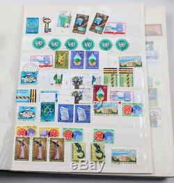 UNO umfangreiche Sammlung, New York Block 1 FDC (2mal) viel Aboware usw